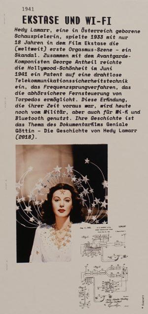 Computer Grrrls Timeline: Hedy Lamarr