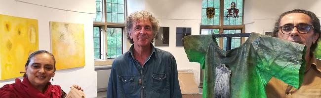 """""""Décor ou des corps? Dekoration oder Körper?"""" Ausstellung von KünstlerInnen aus Le Havre im Torhaus Rombergpark"""