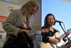 Claudia Rudek aus Dortmund und Guntmar Feuerstein aus Bochum