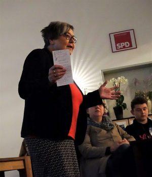 Gerda Kieninger, Vorsitzende der Arbeiterwohlfahrt Unterbezirk Dortmund