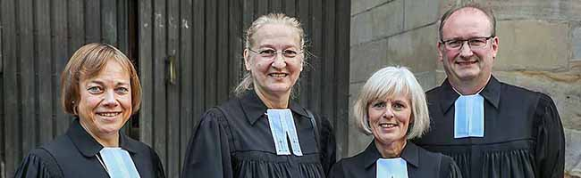Kämpferisch und mit Blick nach vorn: Superintendentin im Kirchenkreis Dortmund Heike Proske ist seit 100 Tagen im Amt