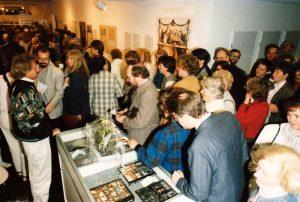 Aufnahme von der Eröffnung des Museums im Jahre 1988. Foto: Kochbuchmuseum