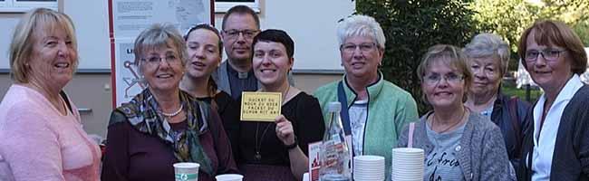 Eine prima Idee zum Abschluss der Bistums-Kampagne: Gartenparty für die Ehrenamtlichen in der Caritas