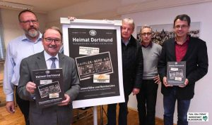 """Heimat Dortmund"""" ist die dreimal jährlich erscheinende Zeitschrift des Historischen Vereins für Dortmund und die Grafschaft Mark in Verbindung mit dem Stadtarchiv Dortmund."""