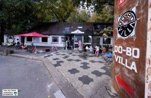 """Die Zukunft der """"DO-BO-Villa"""" ist ungewiss. Das verpachtete Gebäude wird überplant. Foto: Alex Völkel"""