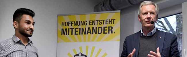 """""""Jugend im Dialog"""" mit dem Bundespräsidenten a.D. in der Nordstadt – """"Gehört der Islam zu Deutschland?"""" in der FH"""