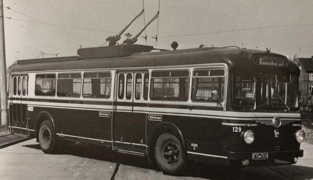 Dortmund hat früher viel stärker auf Elektrobolität gesetzt - hier ein O-Bus. Foto: Stadtarchiv Dortmund