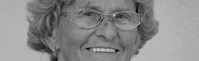 """Trauer um """"Oma Bonke"""": Der kritisch-engagierte """"Engel der Nordstadt"""" ist im Alter von 86 Jahren gestorben"""