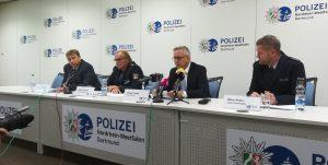 Polizei Pressekonferenz zu den Vorfällen am 27. Oktober