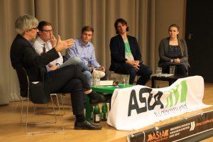 Die Asten von der TU und der Hochschule Dortmund haben zur Diskussion eingeladen. Fotos: Karsten Wickern