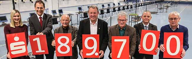 189.000 Euro für den organisierten Sport in Dortmund – Großzügige Spende der Sparkasse an den Stadtsportbund