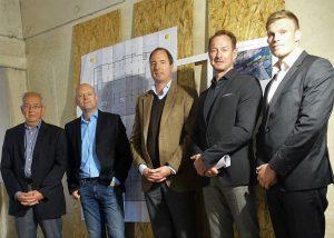 v.l.: Peter Westermeyer, Simon Kinz, Christoph Köchling, Franz-Bernd Große-Wilde, Florian Ebrecht