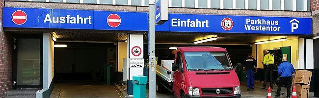 """Wegen Sanierung der Tiefgarage """"Westentor"""": bis Januar 2020 fehlen in der Dortmunder Innenstadt knapp 400 Parkplätze"""
