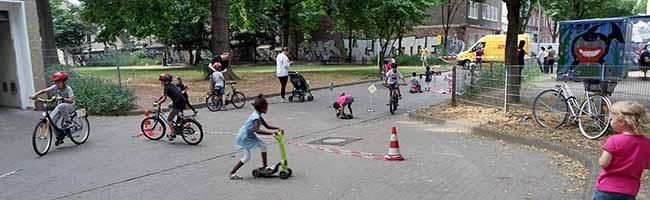 """""""Erlebnistour Nordstadt"""": Kinder, Jugendliche und Eltern am Donnerstag zum Verkehrssicherheitstraining eingeladen"""