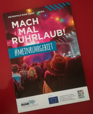 """WelcomeCard Ruhr"" Informationsbroschüre"