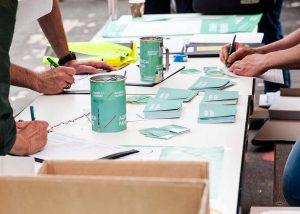 """""""Aufbruch Fahrrad"""" will mindestens 66.000 Unterschriften sammeln."""