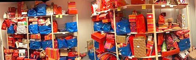 """""""Aktion Kinderwünsche""""sucht dringend Räumlichkeiten zum Sammeln, Lagern und Verpacken der Geschenke in Dortmund"""