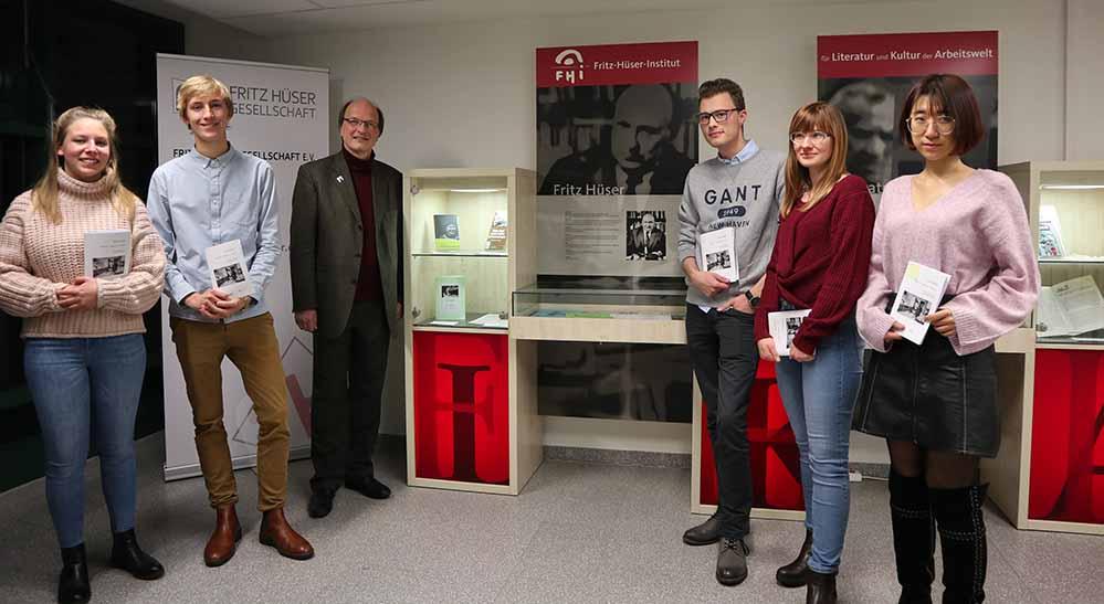 Im Fritz-Hüser-Institut für Literatur und Kultur der Arbeitswelt ist die Ausstellung zu sehen.