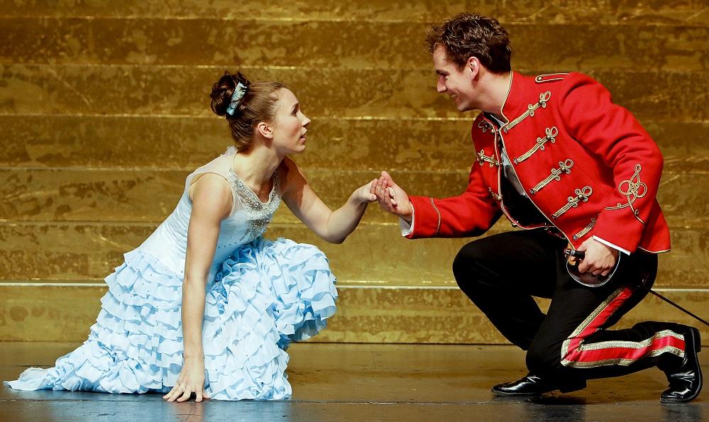 Cinderella, Hauptdarsteller Ann-Kathrin Hinz und Jan Westphal