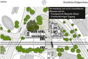 Auf 22.000 Quadratmetern soll hier ein neues Hochhausensemble entstehen.