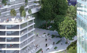 Den Platz von Rostow mit der dazugehörigen S- und U-Bahnstation möchte ein Investor überbauen. Bild: Archwerk