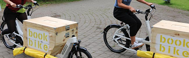 """Projekt """"bookbike nrw"""" des jugendstil-Literaturzentrums aus Dortmund gewinnt zweiten Preis für kommunales Engagement"""