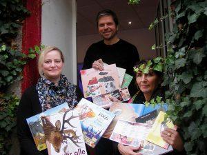 Freuen sich auf die Kids: Isabel Pfarre, Hartmut Salmen und Bettina Stöbe. Foto: S. Fijneman