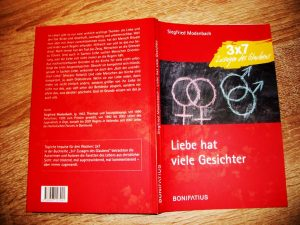 """Das Cover von """"Liebe hat viel Gesichter""""."""