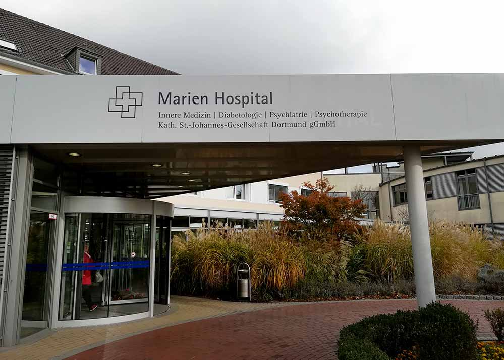 Das Marien-Hospital in Hombruch lädt zu einem besonderen Demenz-Infotag ein.