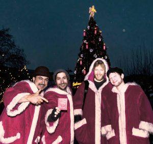 Das Quartett von THE MUNDORGEL PROJECT treten Freitag in der Nordstadt auf. Foto: Bernd Wolsing