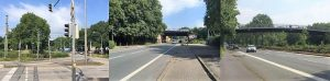 Hindernisse auf dem Nordstadtweg (Beispiele)