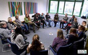 Im Anschluss an die Vorträge fanden fünf Workshops statt. Fotos: Alex Völkel