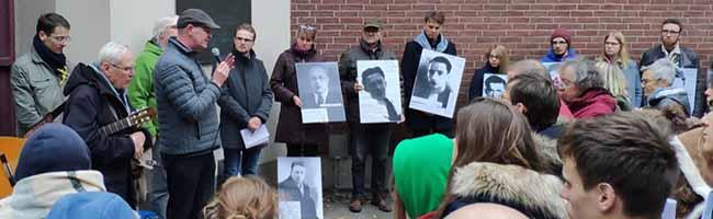 PfadfinderInnen erinnern in Dortmund an den von Nazis ermordeten Widerstandskämpfer Abbé Pierre Carpentier