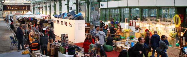 """""""Trash Up!""""- Upcycling-Festival im Depot Dortmund gestartet: Viele Workshops und Mitmachaktionen"""