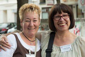 Annette Kritzler und Anette Plümpe.