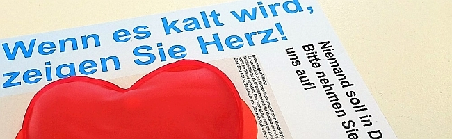 """Zum x-ten Mal: Wohnungslose in Dortmund brauchen Hilfe – Diakonie: """"Wenn es kalt wird, zeigen Sie Herz!"""" – Ist das so?"""