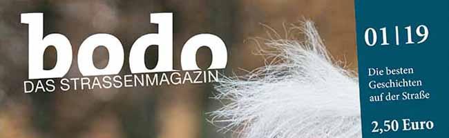 """bodo"" ‑ das Straßenmagazin für Dortmund im Januar"