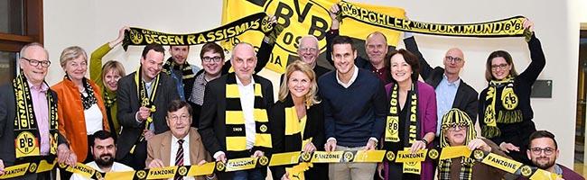 BVB-Besuch in Berlin: Ehemaliger Mannschaftskapitän Sebastian Kehl zu Gast bei den Bundestagsborussen