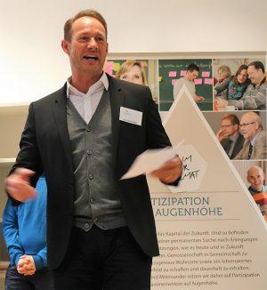 Sichtlich mit Spaß bei der Sache: Franz-Bernd Große-Wilde
