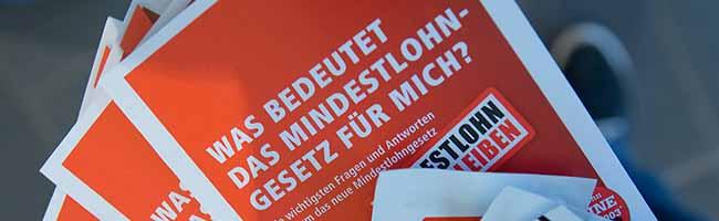 Der Mindestlohn steigt auf 9,19 Euro – DGB Dortmund: Untergrenze sorgt für mehr Lohn und Beschäftigung