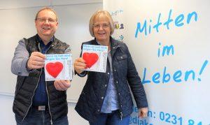 Engagiert: Anne Rabenschlag und Thomas Bohne.