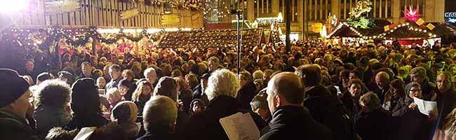 """10. Dortmunder Weihnachtssingen auf dem Hansaplatz: """"Gemeinsam Singend läuten wir die Weihnachtstage ein"""""""