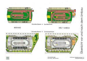 Vorher-Nachher-Ansichten der geplanten Bauvorhaben. Quelle: Stadt Dortmund