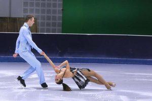 Aljona Savchenko und Bruno Massot. Foto: Anja Cord