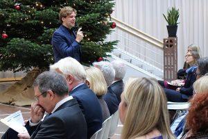 Moderation der Veranstaltung: Prof. Michael Steinbrecher