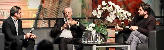 """Talk im DKH mit einem leidenschaftlichen Hans Leyendecker: """"Der Kirchentag ist eine Tankstelle für die Seele"""""""
