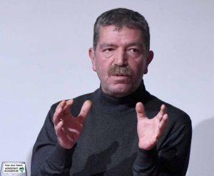 Hüseyin Avgan, Vorstand der Föderation der Demokratischen Arbeitervereine (DIDF).