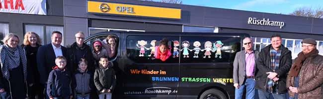 Fahrzeugübergabe: Mehr Mobilität bringt mehr Chancen für Kinder und Familien aus der Dortmunder Nordstadt