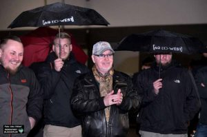 Beifall spendete der Noch-AfD-Mann den Worten von Ratsmitglied Michael Brück, der ebenfalls Breitseiten gegen die AfD feuerte.
