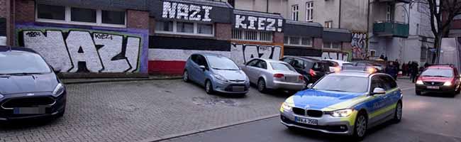 """Vorstoß der Polizei: Mit Videobeobachtung im Einsatz gegen den selbst-reklamierten """"Nazi-Kiez"""" in Dorstfeld"""